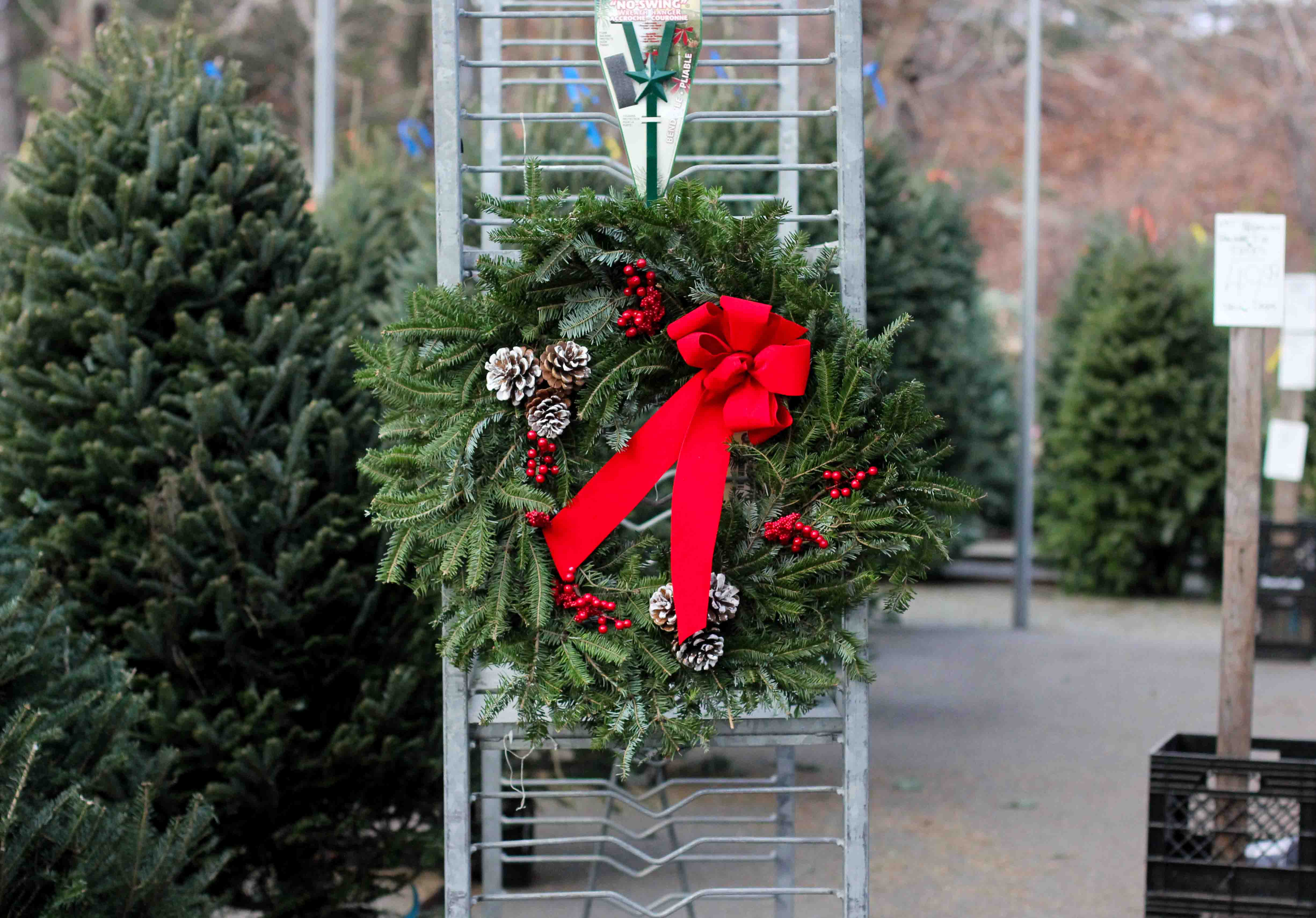 Large Decorated Wreaths